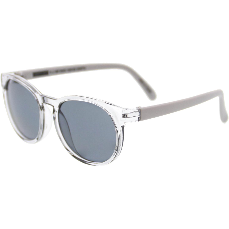 Janie And Jack Metallic Sunglasses 2-4 Years 200397719 Clear Oval