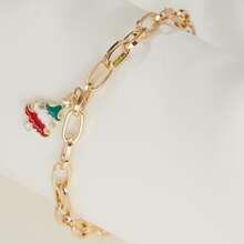 Christmas Tree Charm Bracelet