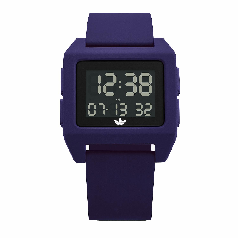 Adidas Men's Archive Sp1 Z15 3205-00 Purple Silicone Quartz Fashion Watch