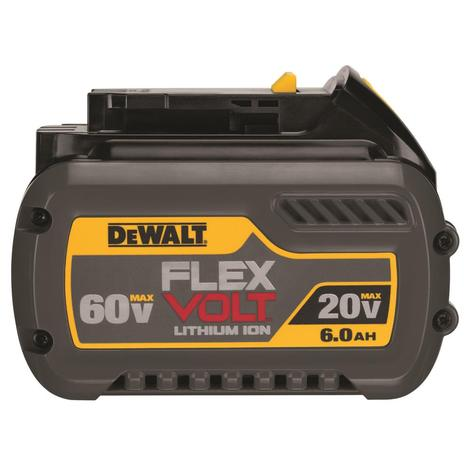 DeWalt 20 V/ 60 V Max* Flexvolt 6.0 Ah Battery