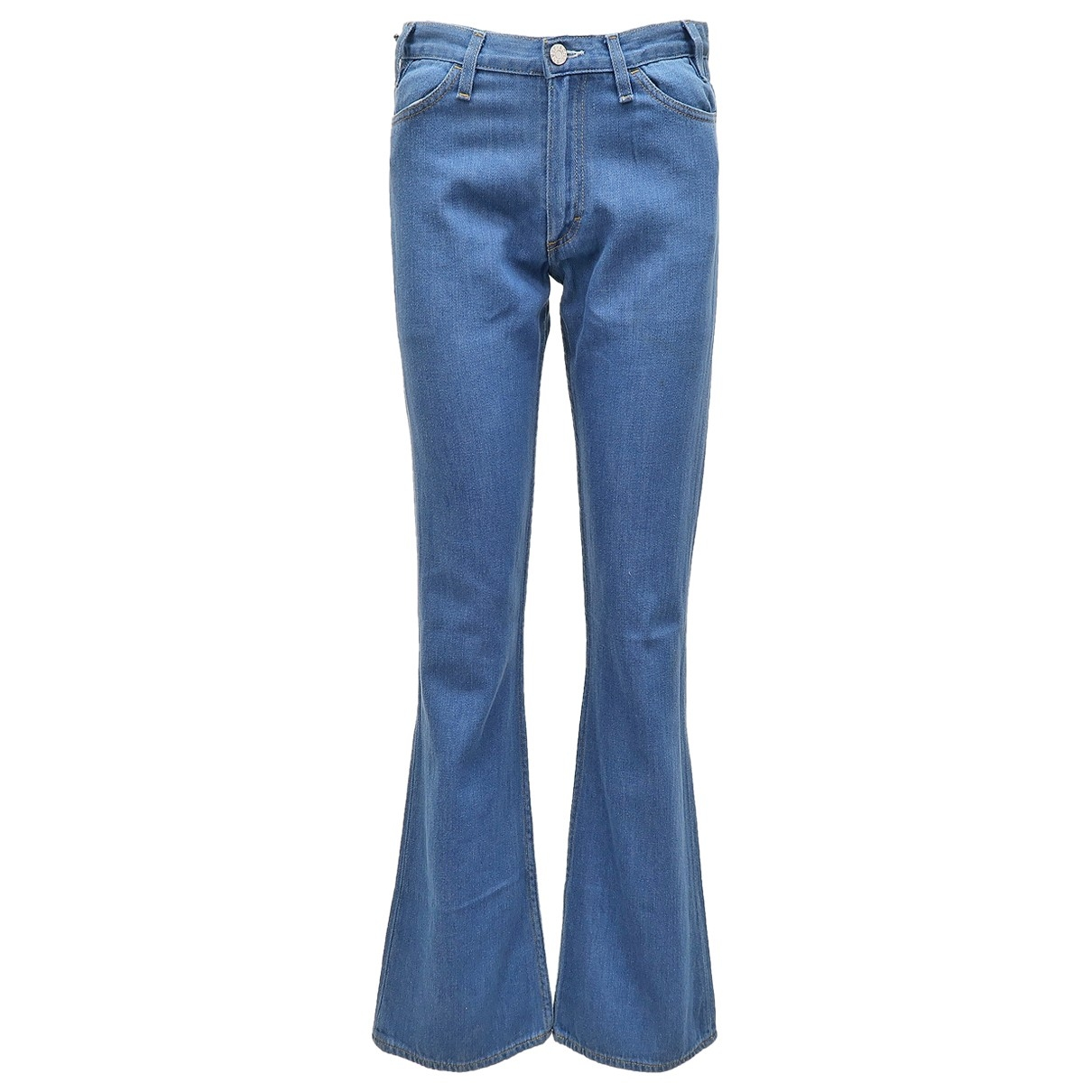 Acne Studios \N Blue Cotton Jeans for Women 31 US