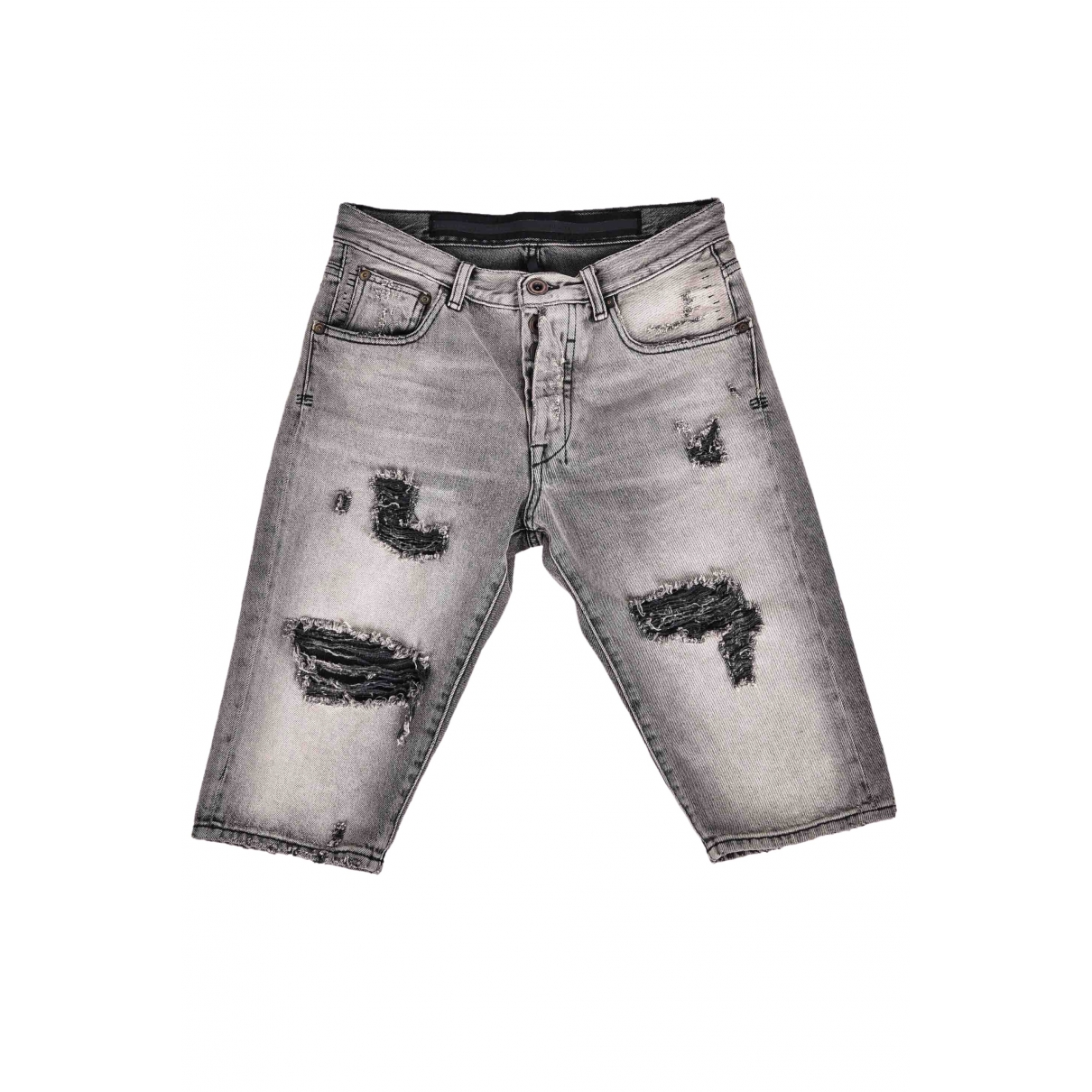 Unravel Project \N Shorts in  Grau Denim - Jeans