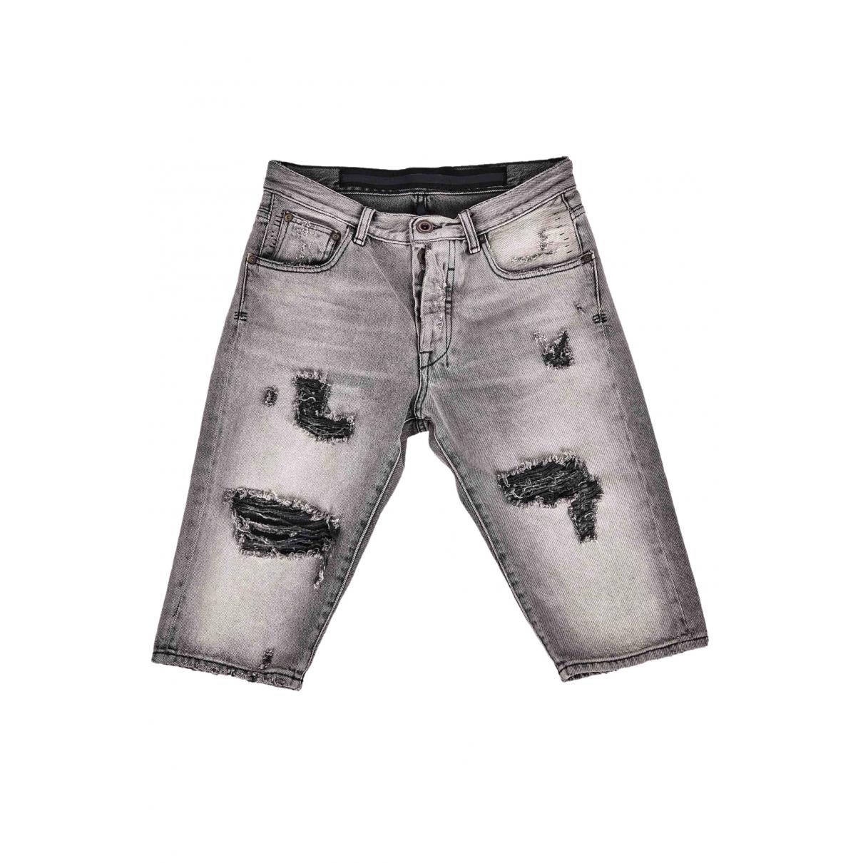 Unravel Project \N Grey Denim - Jeans Shorts for Men 28 UK - US
