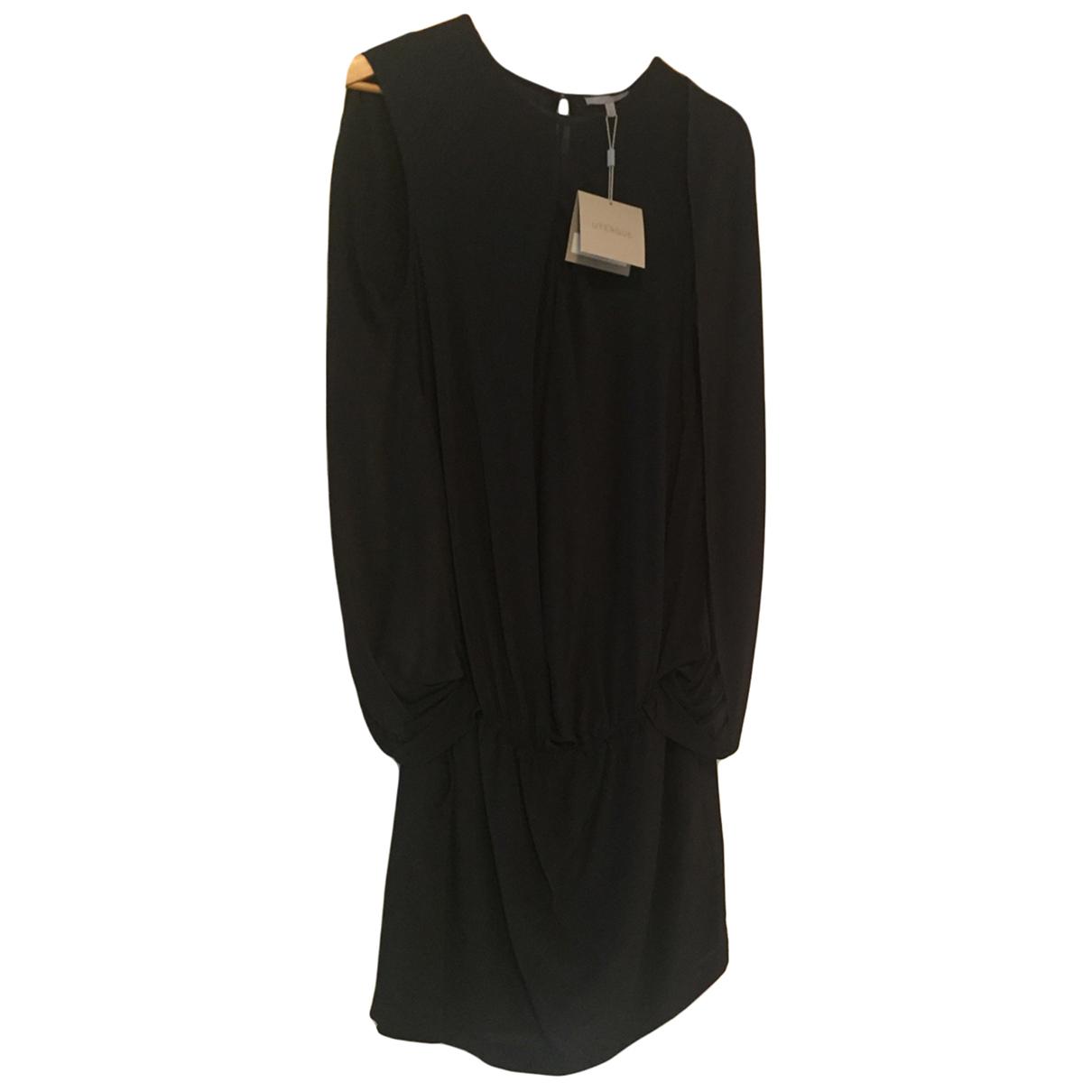 Uterque \N Kleid in  Schwarz Viskose