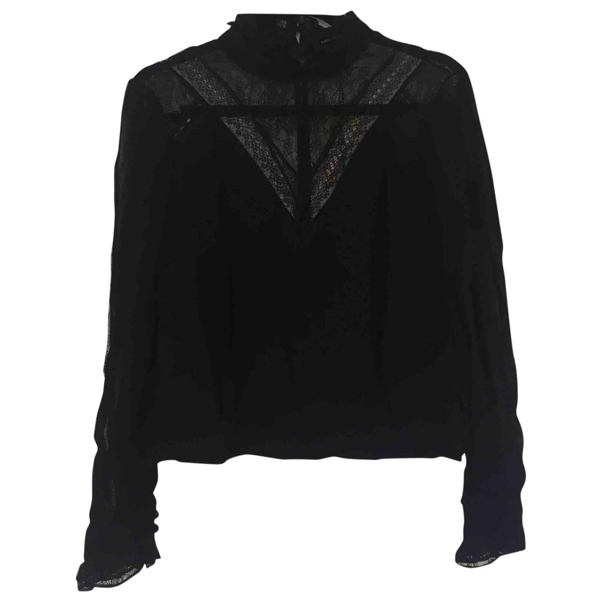 Karen Millen \N Black Lace  top for Women 12 UK