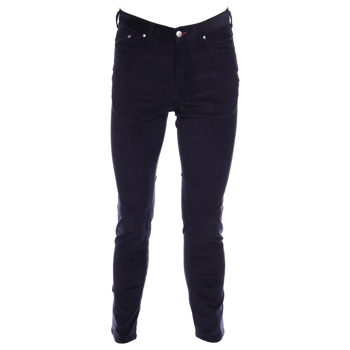 Paul Smith \N Navy Cotton - elasthane Jeans for Men 30 US