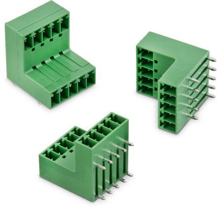 Wurth Elektronik , WR-TBL, 356B, 4 Way, 2 Row, Horizontal PCB Header (100)