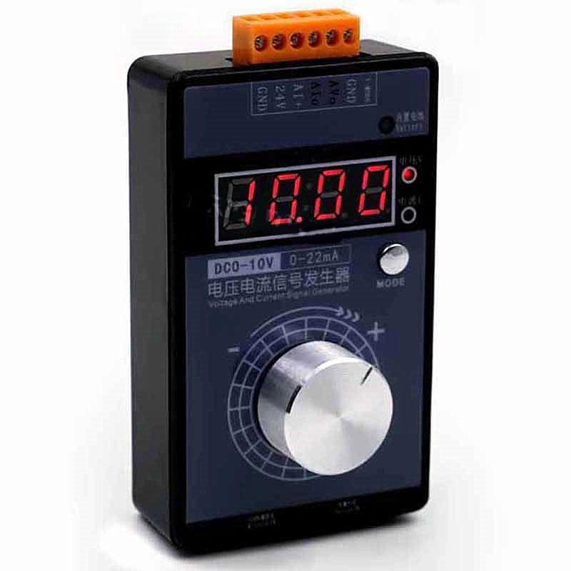 JS_VISG_M-S-N Analog 0-5 V-0 V-10V 4-20mA Signal Generator Current Adjustable Voltage Pocket Simulator LB01G Calibrator