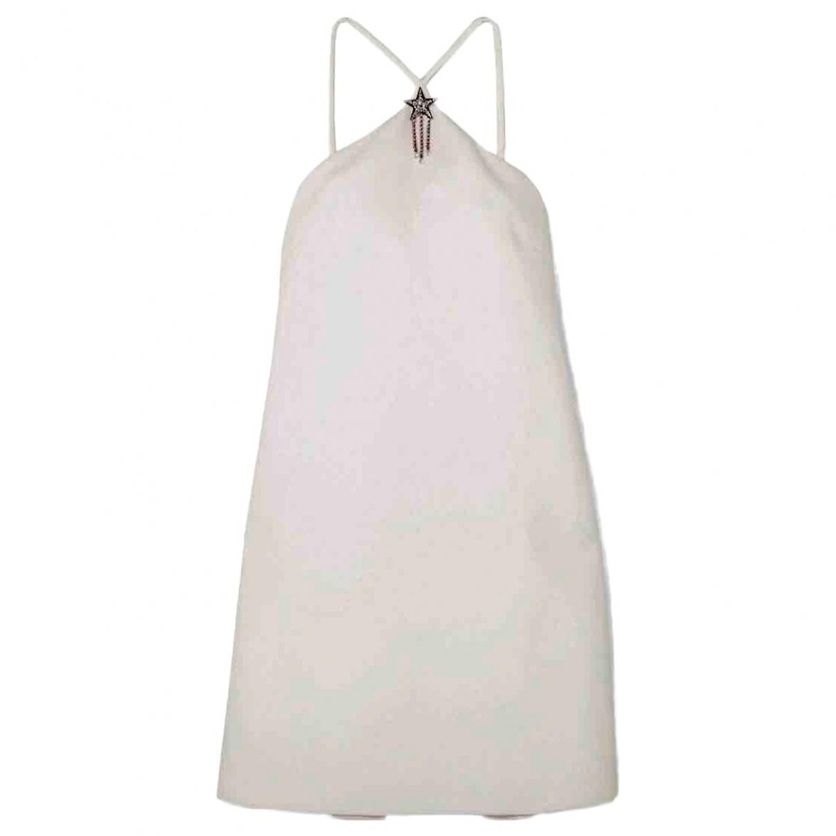 Miu Miu \N Kleid in  Weiss Polyester