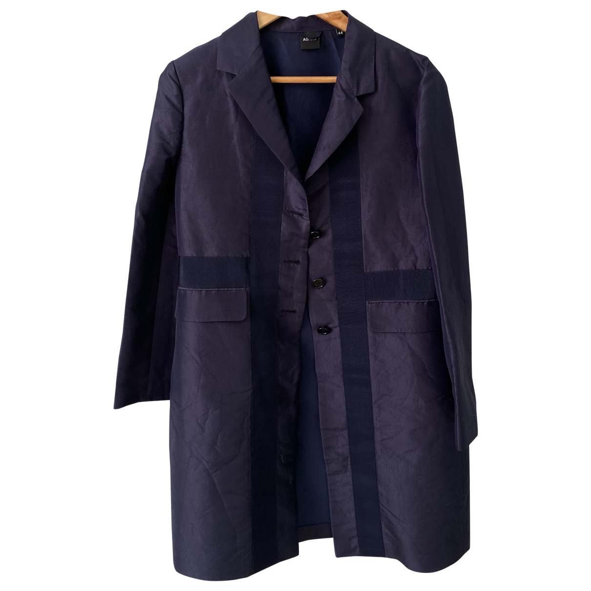 Aspesi \N Blue Silk jacket for Women 44 IT