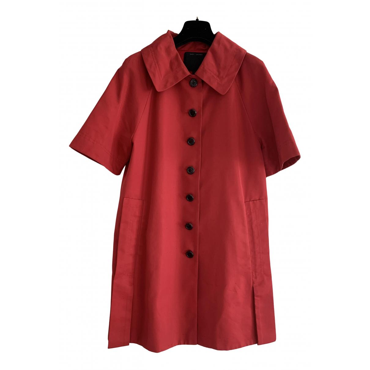 Marc Jacobs - Manteau   pour femme en coton - rouge