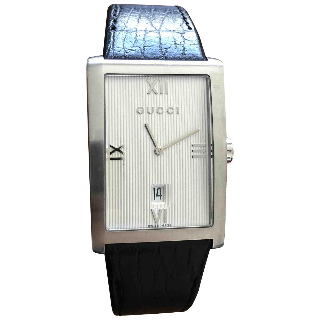 Gucci N White Steel watch for Men N