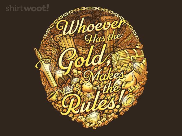 A Golden Rule T Shirt