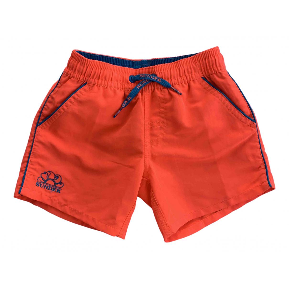 Sundek \N Shorts in  Orange Polyester