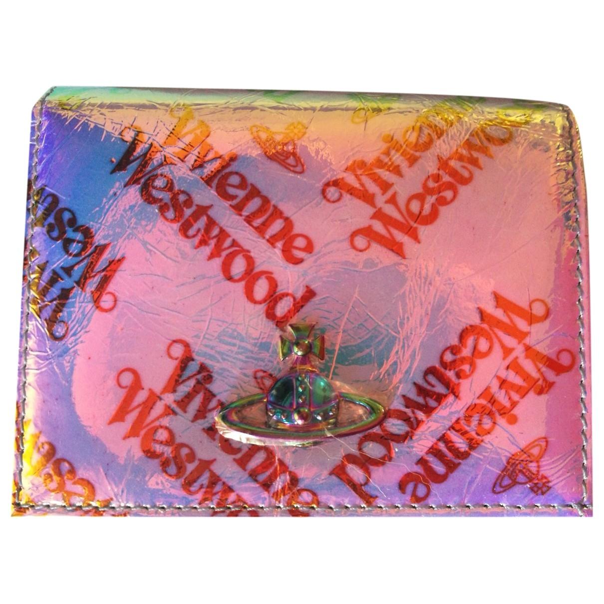 Vivienne Westwood - Portefeuille   pour femme en cuir - multicolore