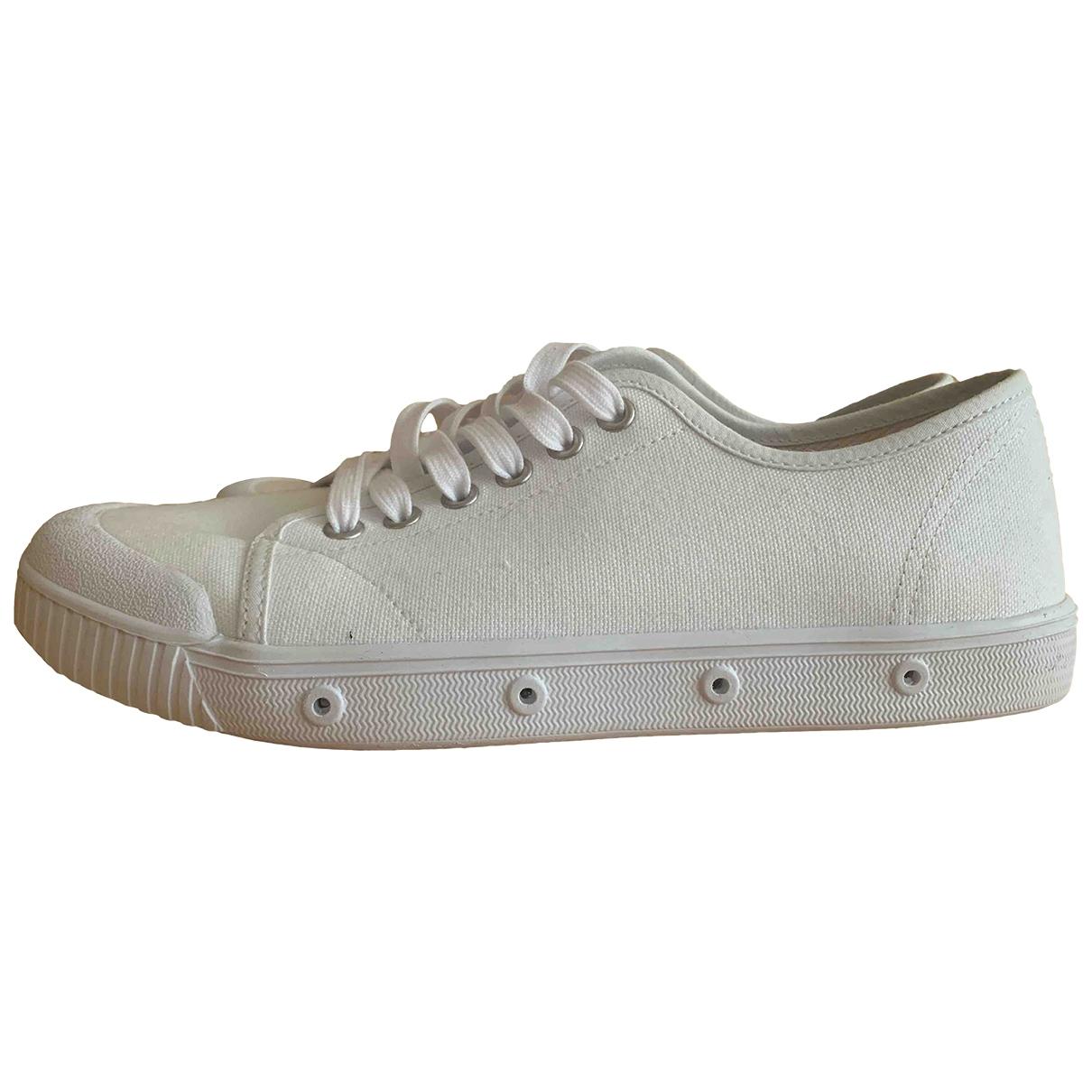 Spring Court - Baskets   pour homme en toile - blanc