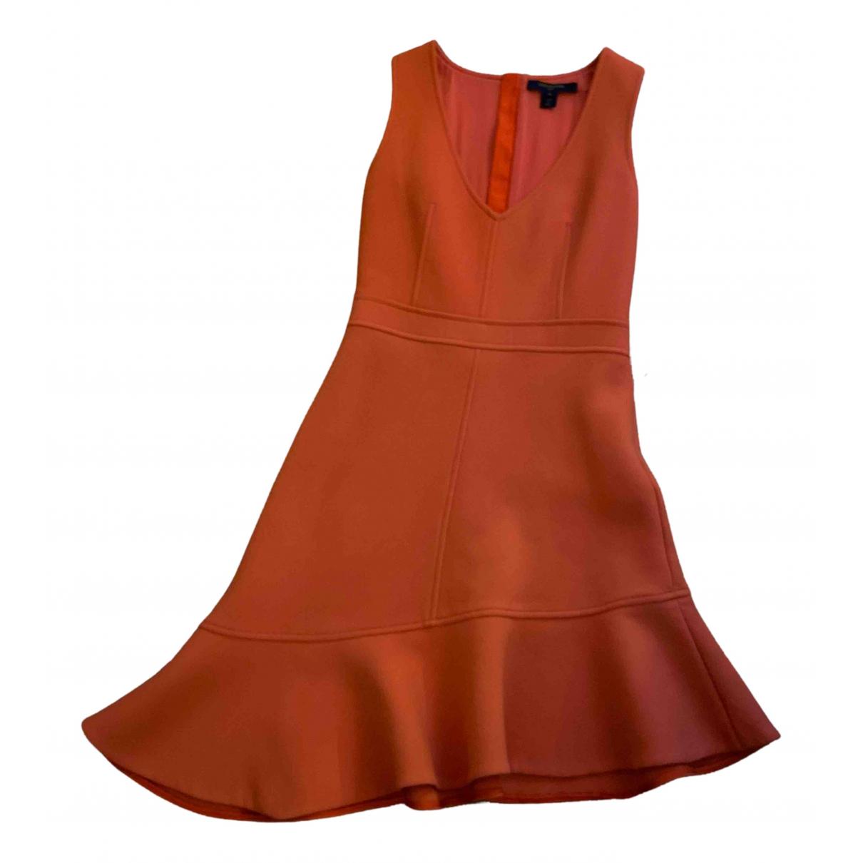 Louis Vuitton - Robe   pour femme en laine - orange