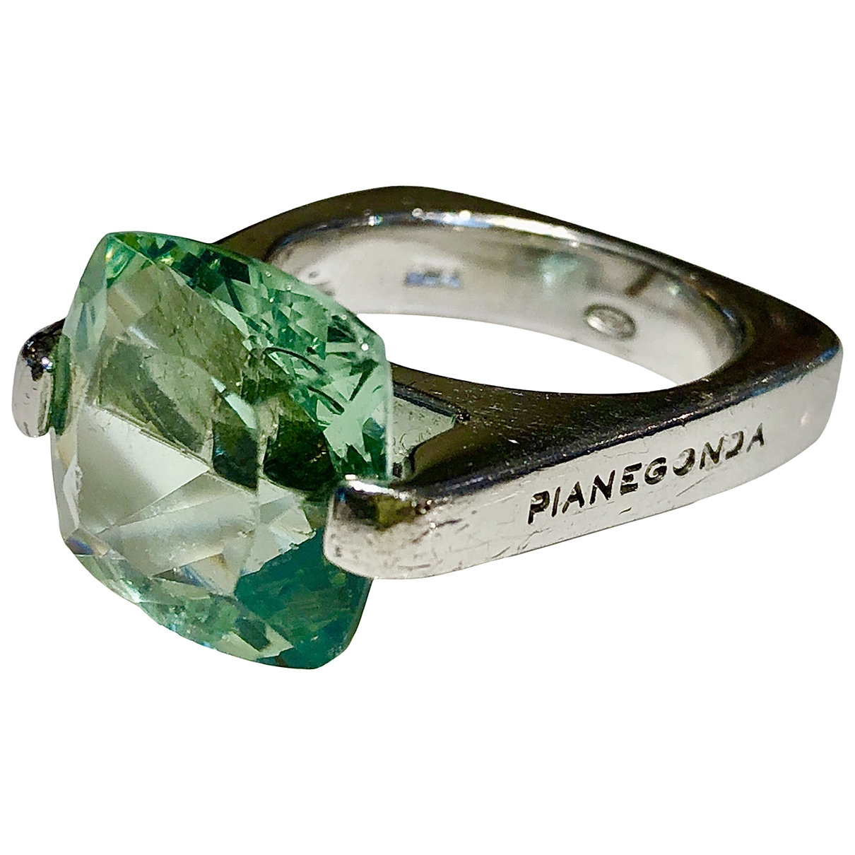Pianegonda - Bague   pour femme en argent - bleu