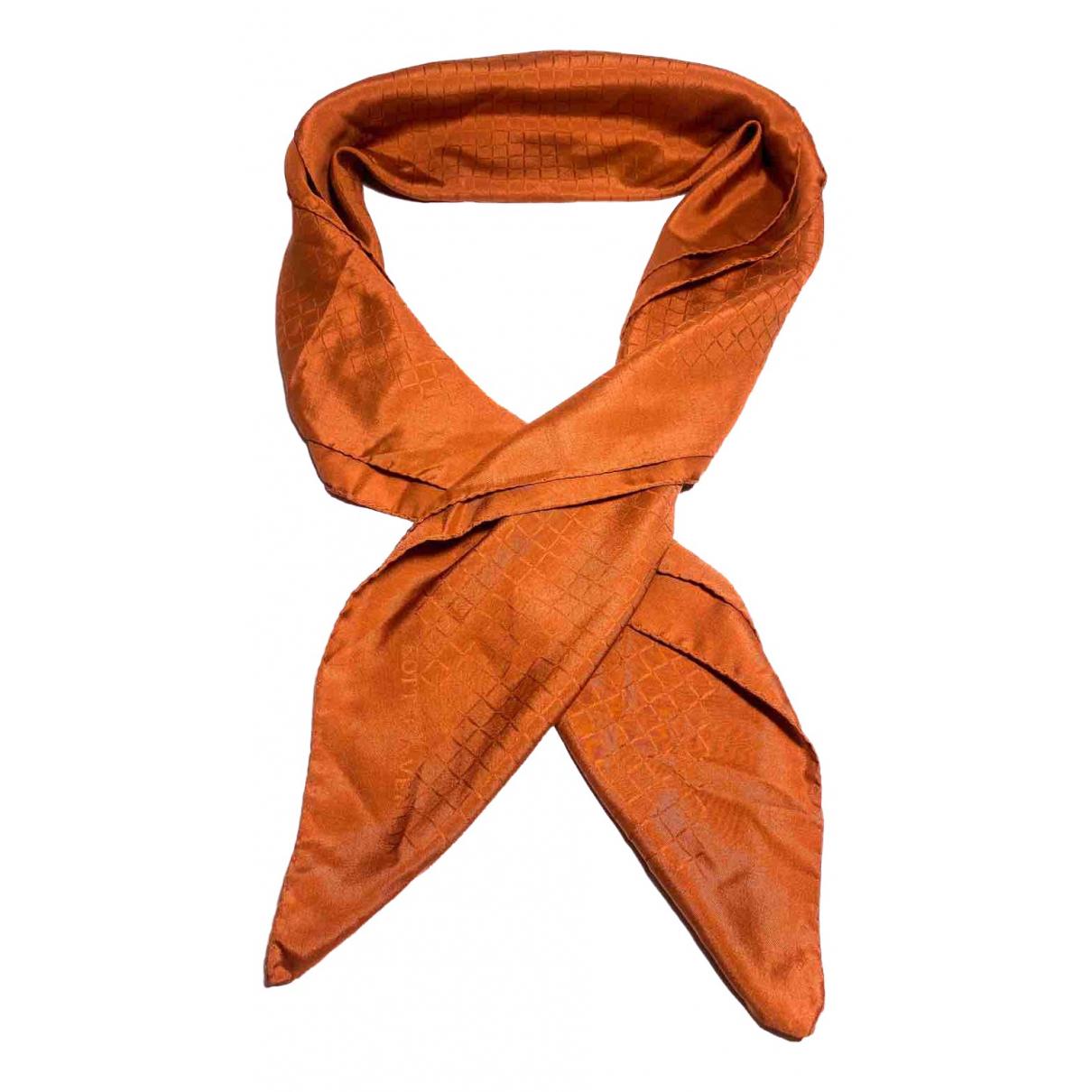 Bottega Veneta \N Orange Silk scarf for Women \N
