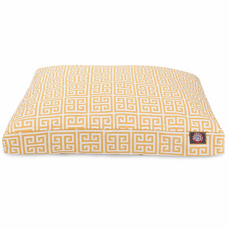 Majestic Pet Towers Rectangle Pet Bed, One Size , Yellow