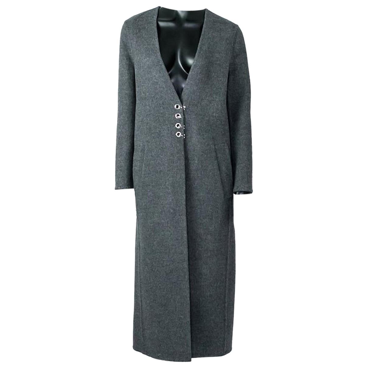 Alexander Wang - Manteau   pour femme en laine - gris