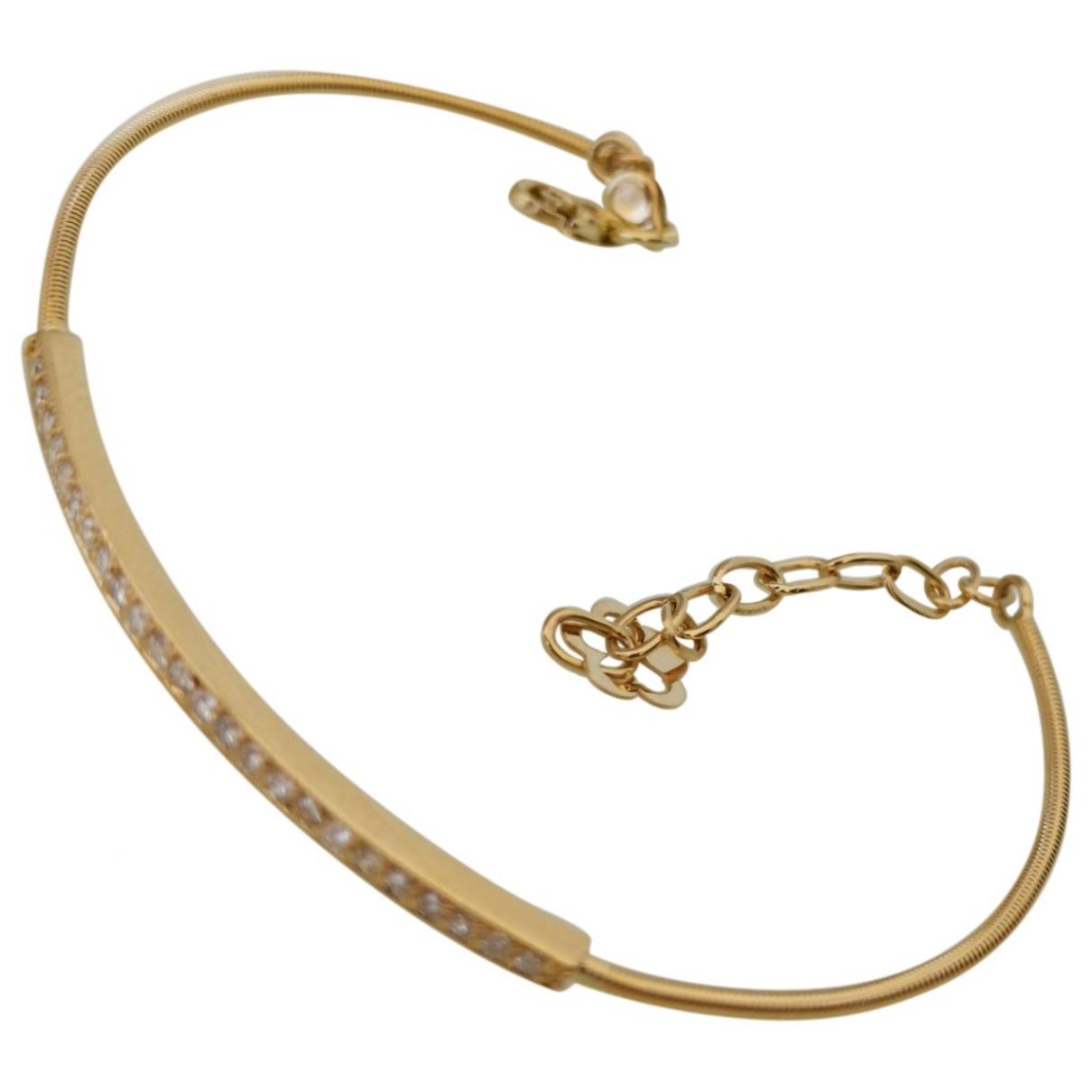 - Bracelet Jonc pour femme en or jaune - jaune