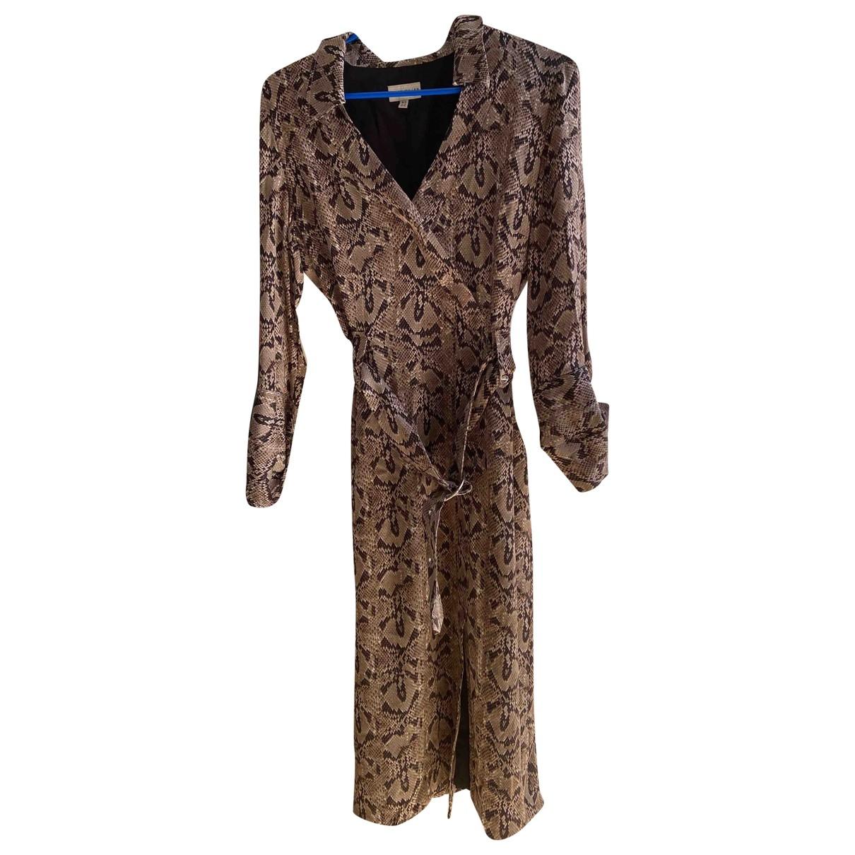 Karen Millen \N Brown dress for Women 14 UK