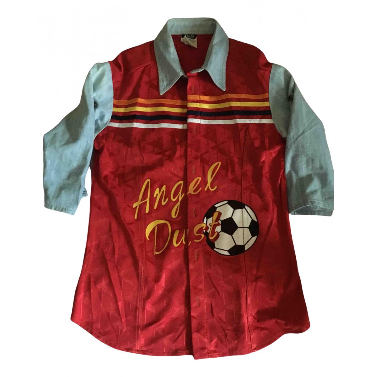 D&g - Chemises   pour homme - rouge