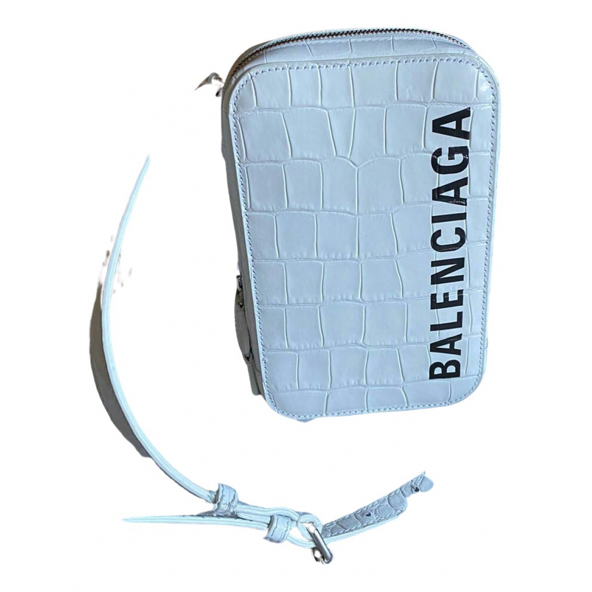 Funda iphone de Cuero Balenciaga