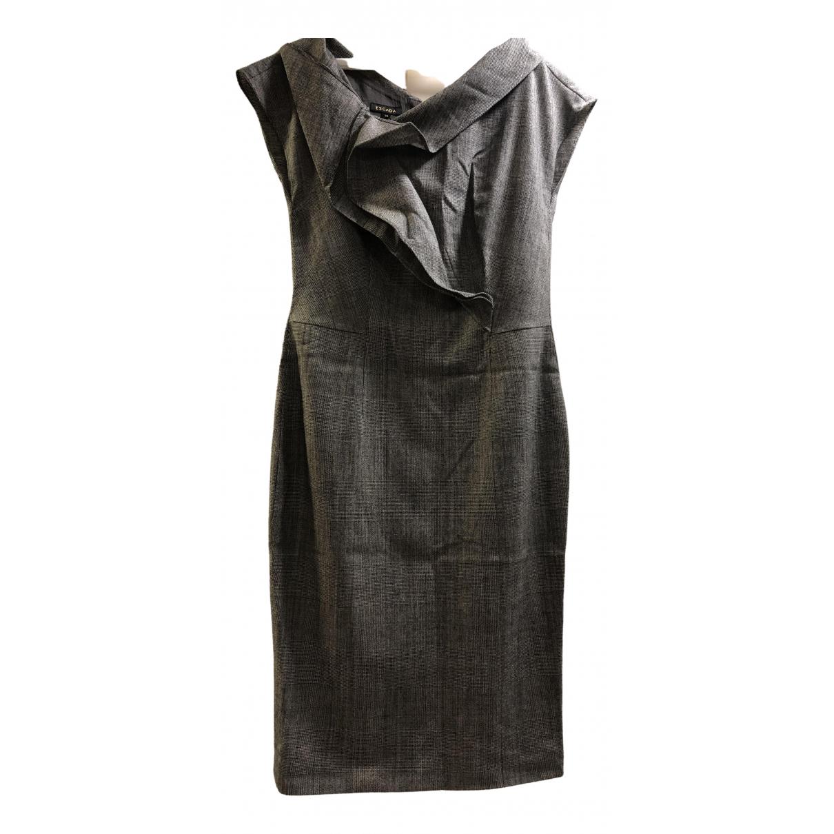Escada N Grey Wool dress for Women S International