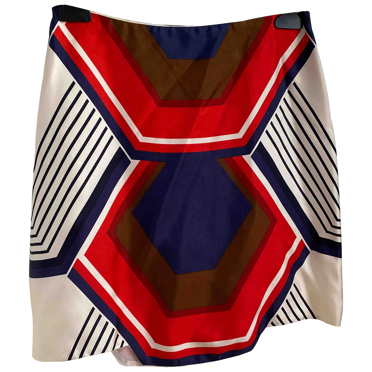 Miu Miu \N Multicolour Silk skirt for Women 38 IT