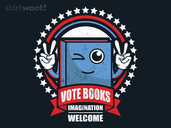 Vote Books T Shirt
