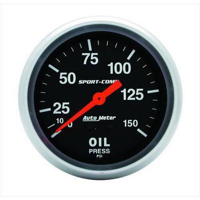 Auto Meter Sport-Comp Mechanical Oil Pressure Gauge - 3423
