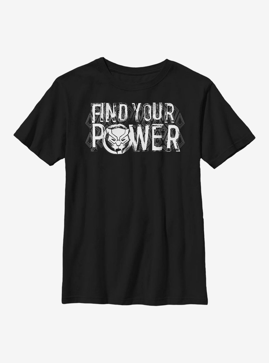 Marvel Black Panther Power Youth T-Shirt