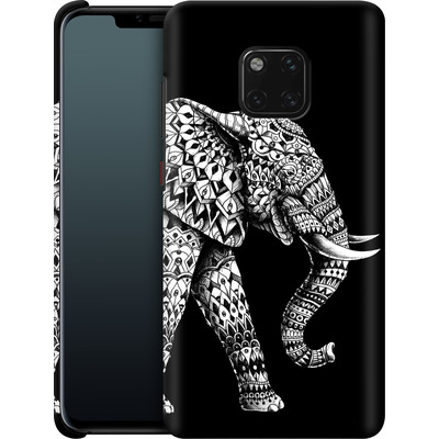 Huawei Mate 20 Pro Smartphone Huelle - Ornate Elephant 3.0 von BIOWORKZ