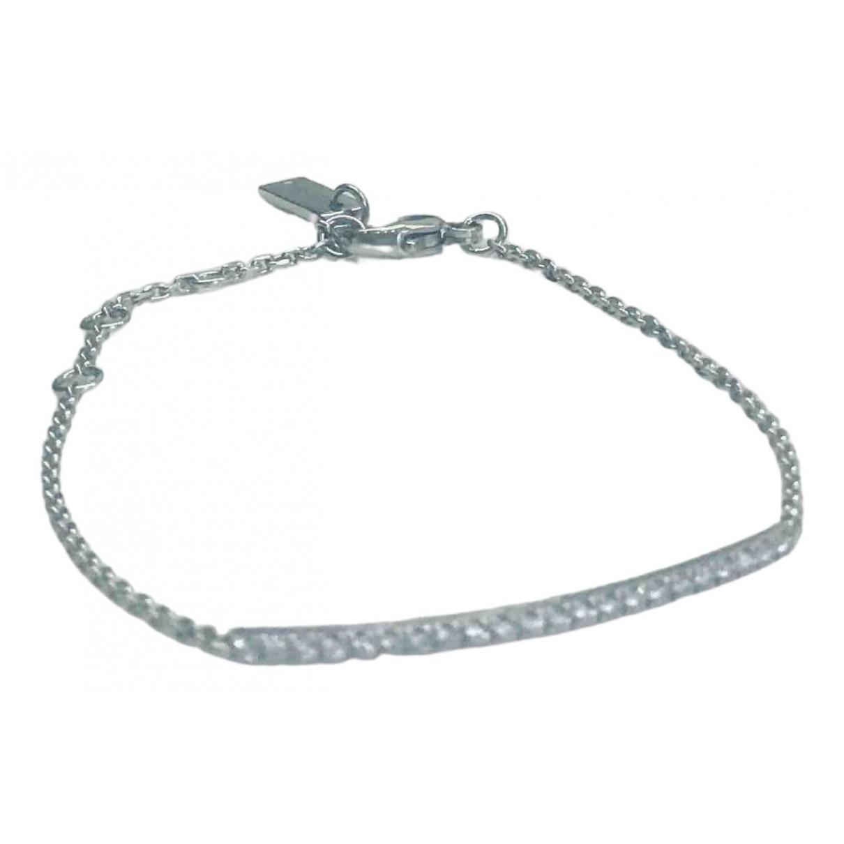 Messika Glam'Azone Silver White gold bracelet for Women \N
