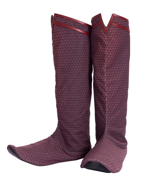 Milanoo SuperMan:Man Of Steel 2 Cosplay Costume Adults Polyurethan Boots Superman Cosplay Shoes