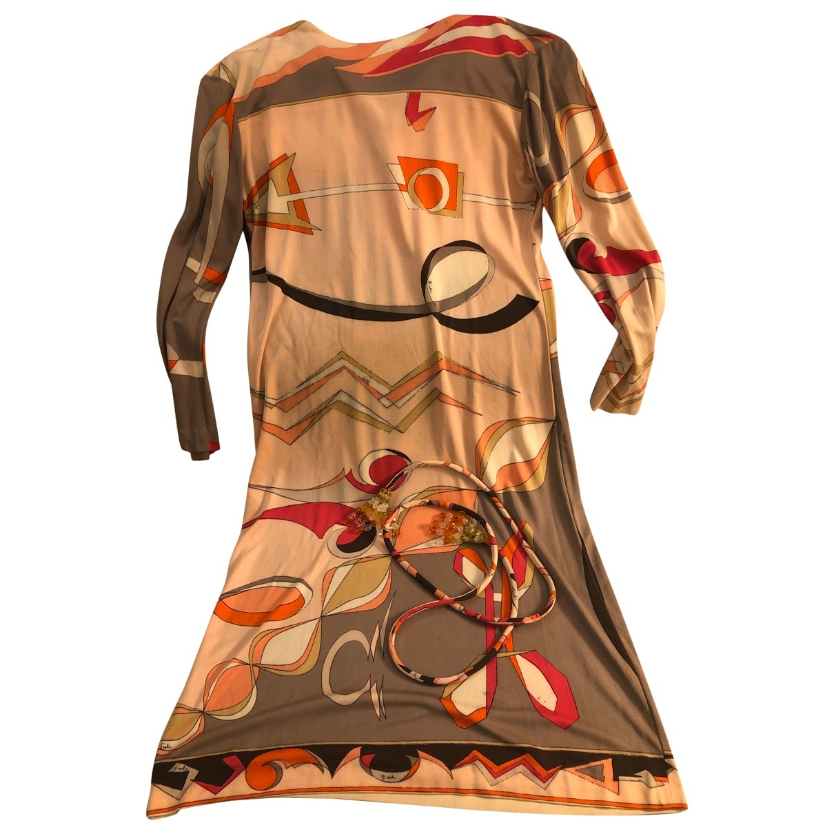 Emilio Pucci \N Multicolour Silk dress for Women 38 IT