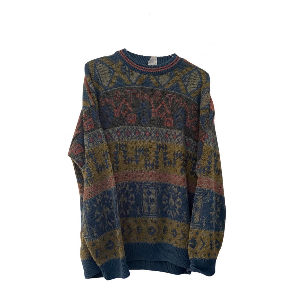 Non Signé / Unsigned N Multicolour Wool Knitwear & Sweatshirts for Men XXL International