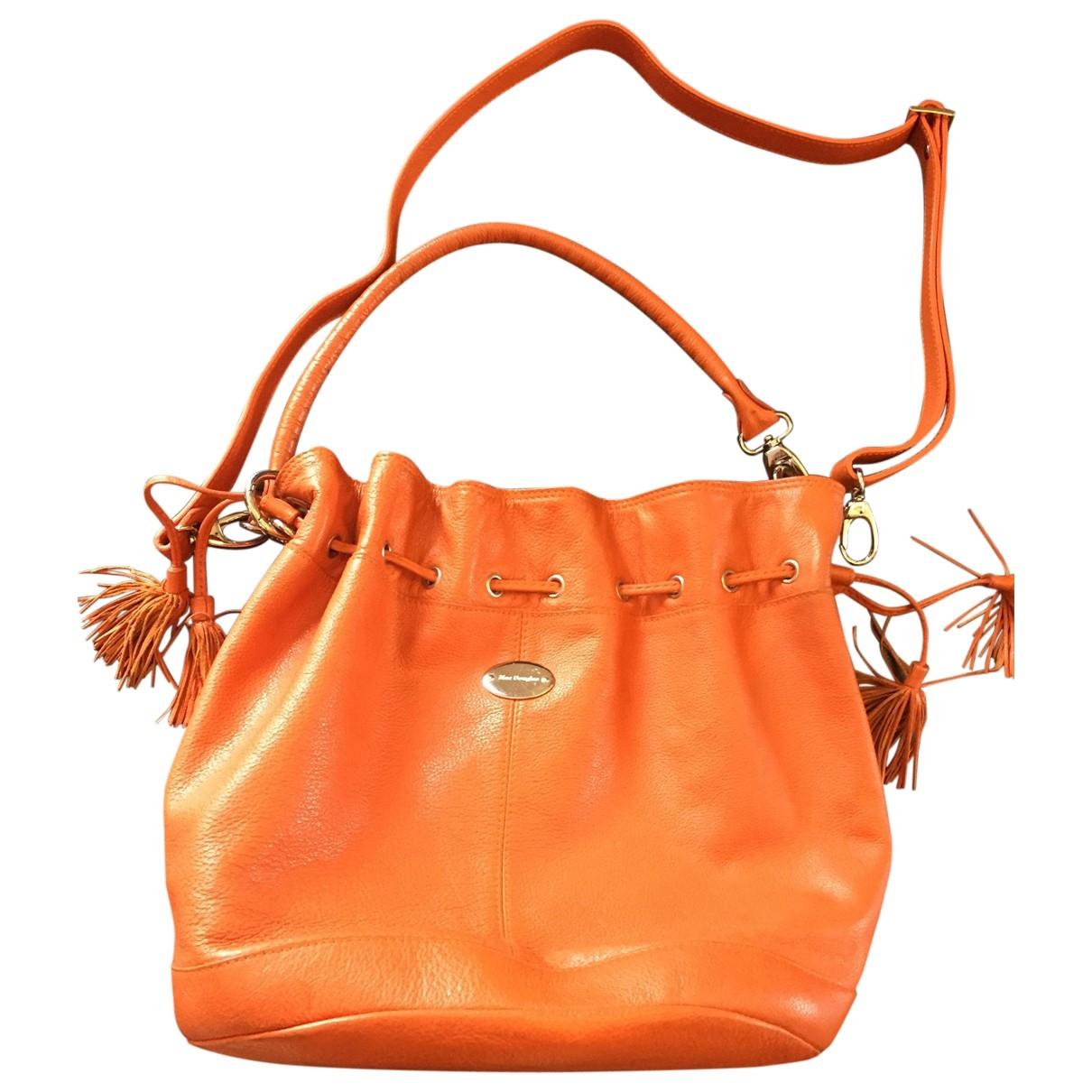 Mac Douglas \N Orange Leather handbag for Women \N