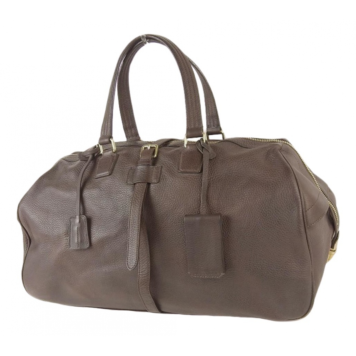 Jil Sander \N Brown Leather Travel bag for Women \N