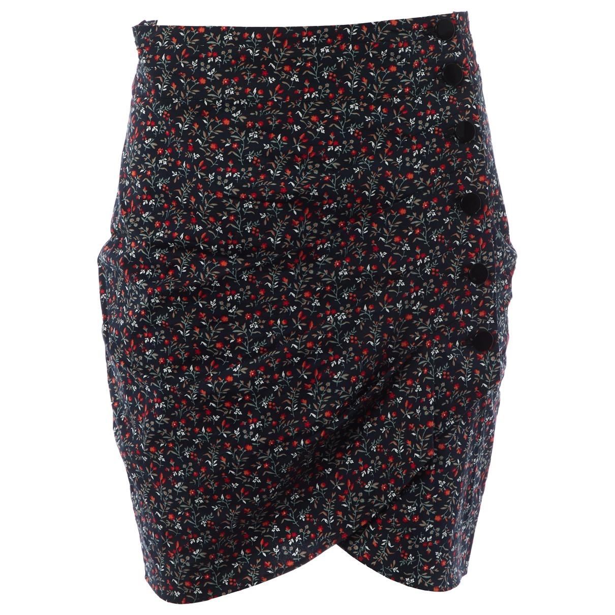 Ba&sh X Vestiaire Collective Sunshine Navy Cotton skirt for Women 0 0-5