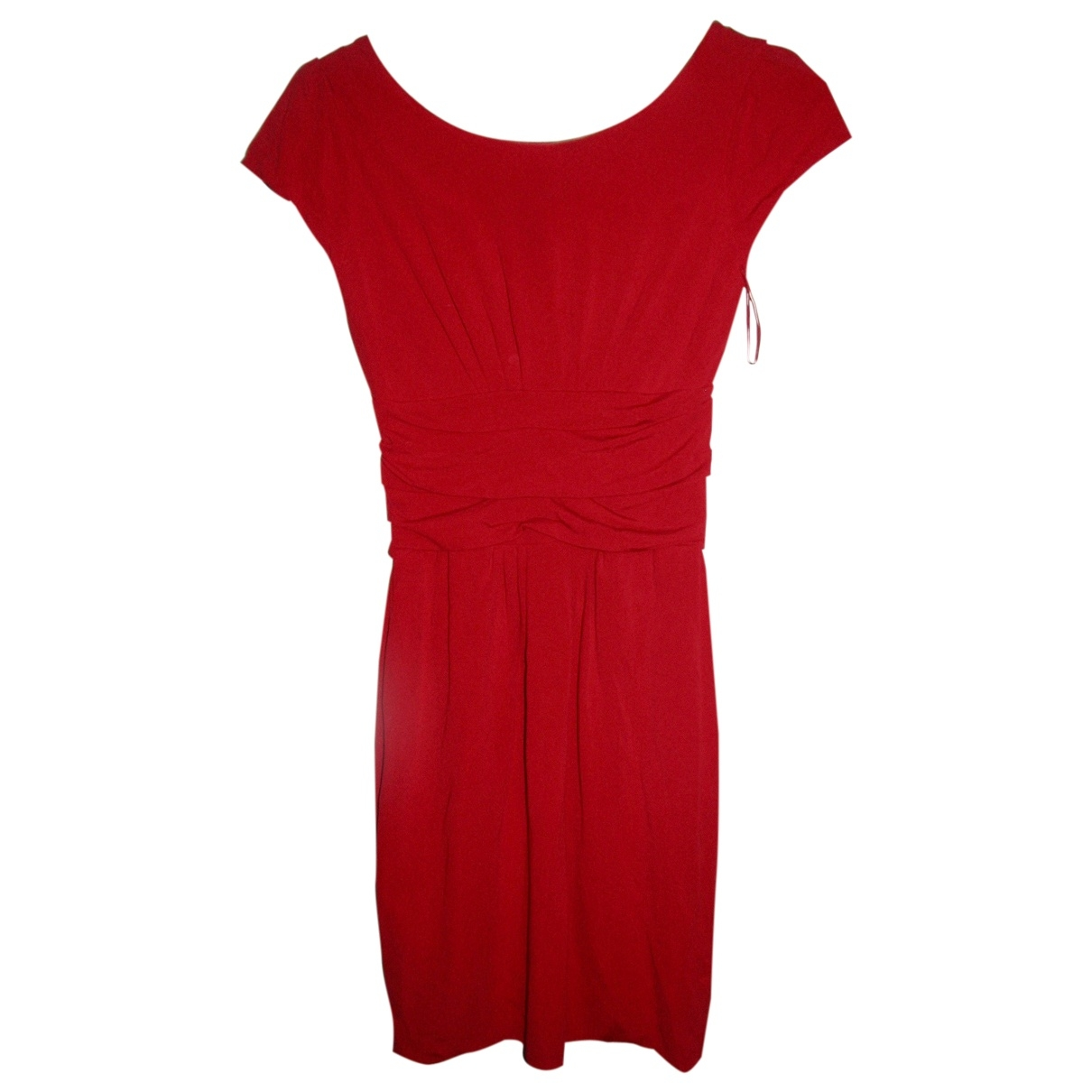 Moschino Cheap And Chic \N Kleid in  Rot Viskose