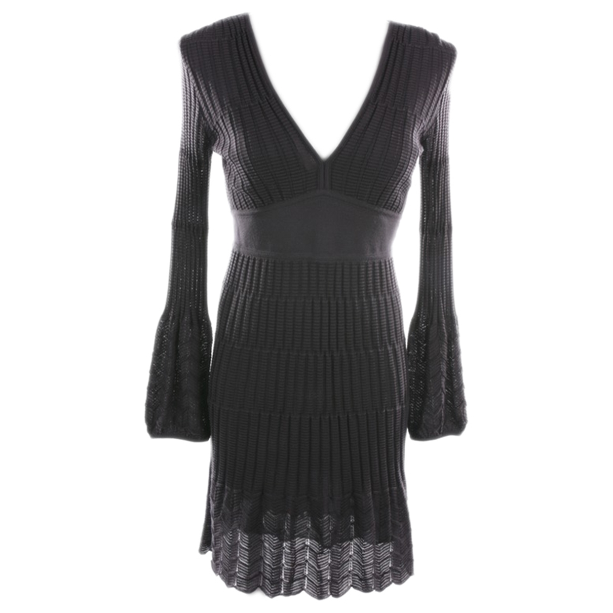 M Missoni - Robe   pour femme en coton - marron
