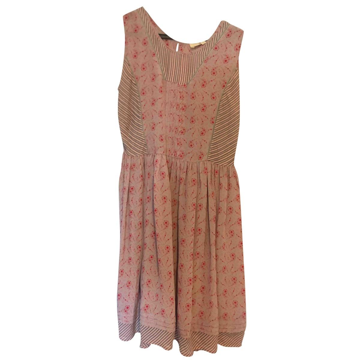Vanessa Bruno Athe \N Red Silk dress for Women 40 FR
