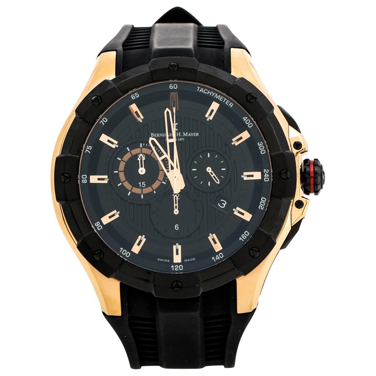 Bernhard H Mayer \N Black watch for Men \N