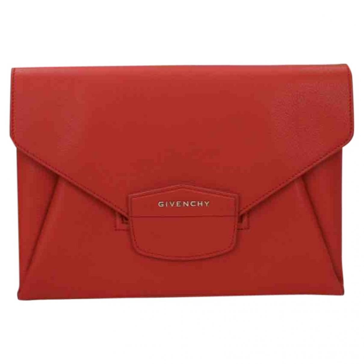 Givenchy Nightingale Red Patent leather Clutch bag for Women \N