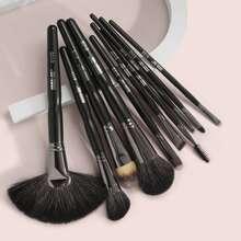 10 piezas set de cepillo de maquillaje