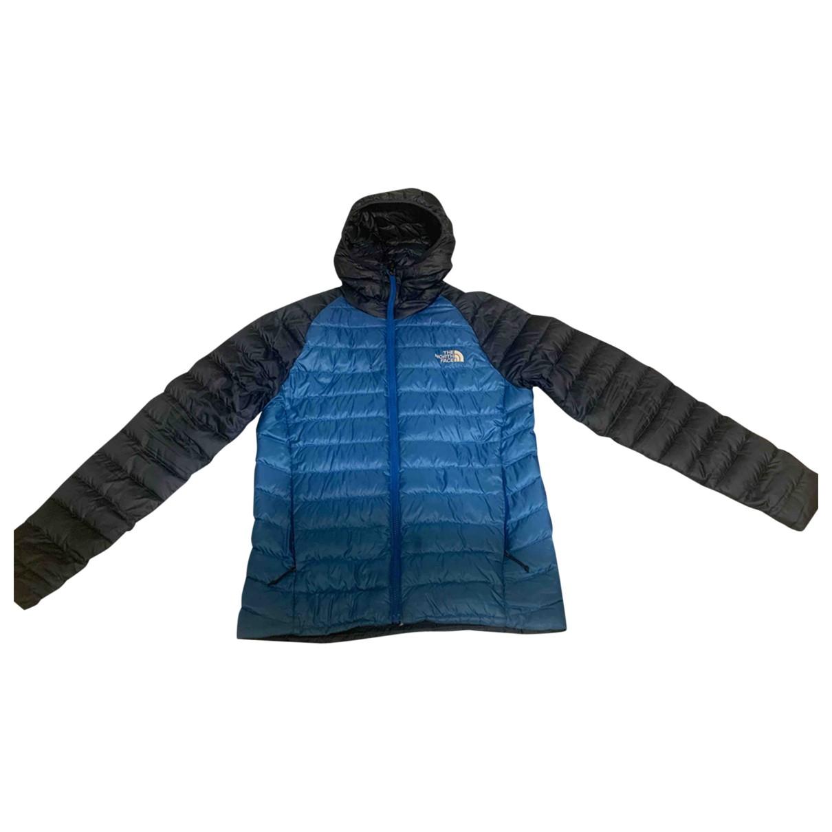 The North Face - Vestes.Blousons   pour homme en coton - bleu