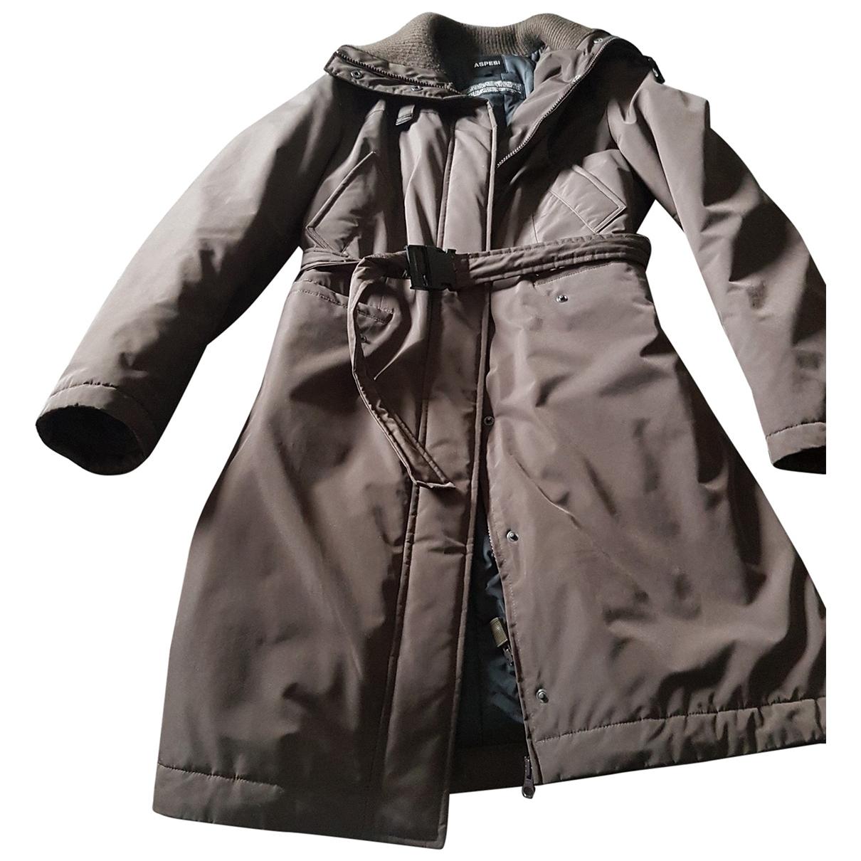 Aspesi \N Brown coat for Women M International